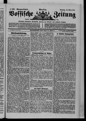 Vossische Zeitung vom 16.03.1913