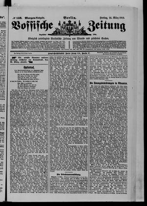 Vossische Zeitung vom 21.03.1913