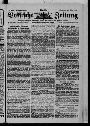 Vossische Zeitung vom 22.03.1913