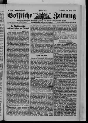Vossische Zeitung vom 25.03.1913