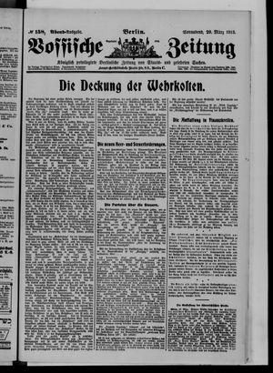 Vossische Zeitung vom 29.03.1913