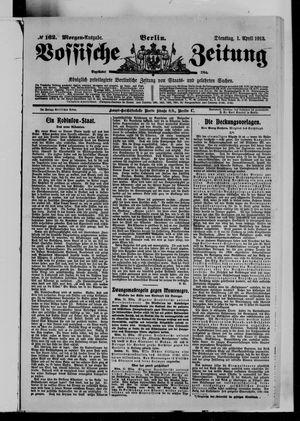 Vossische Zeitung vom 01.04.1913