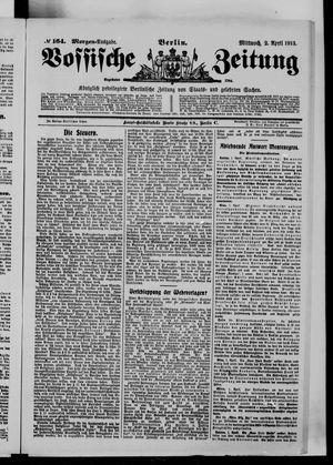 Vossische Zeitung vom 02.04.1913