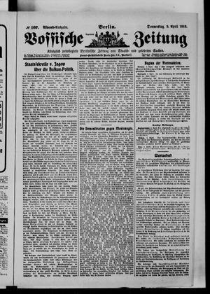 Vossische Zeitung vom 03.04.1913