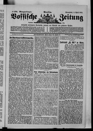 Vossische Zeitung vom 05.04.1913