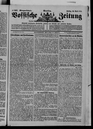 Vossische Zeitung vom 25.04.1913