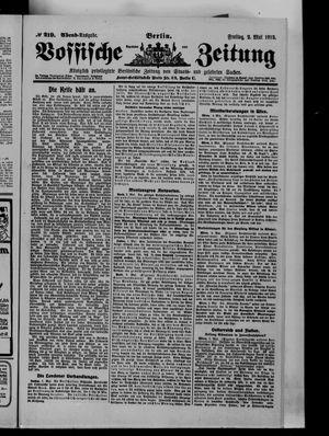 Vossische Zeitung vom 02.05.1913