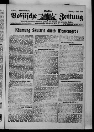 Vossische Zeitung vom 05.05.1913