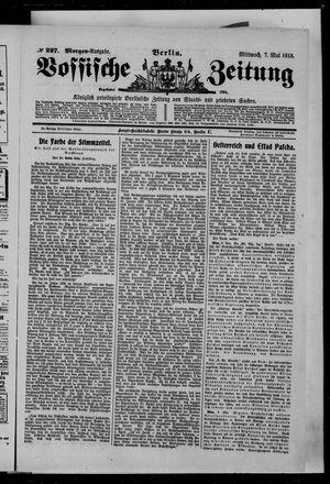 Vossische Zeitung on May 7, 1913