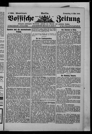 Vossische Zeitung vom 08.05.1913