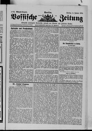 Vossische Zeitung vom 02.01.1914