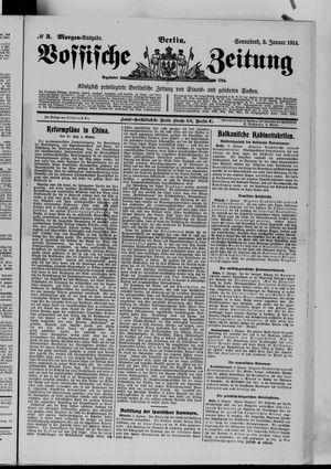 Vossische Zeitung vom 03.01.1914