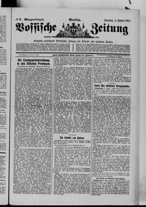 Vossische Zeitung vom 04.01.1914