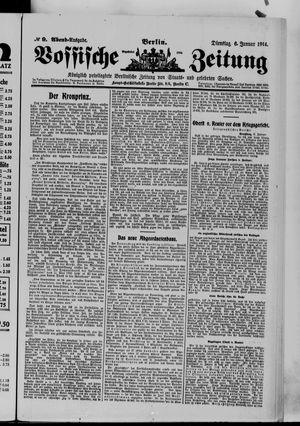 Vossische Zeitung vom 06.01.1914