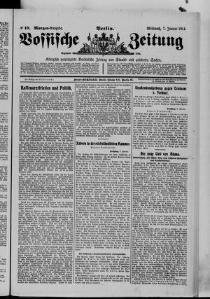 Vossische Zeitung vom 07.01.1914