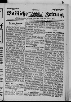 Vossische Zeitung vom 12.01.1914