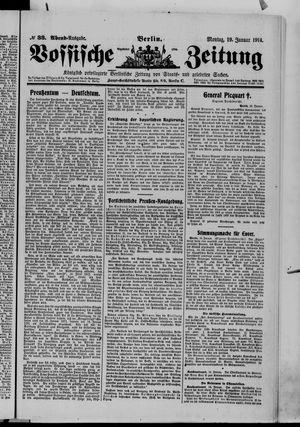 Vossische Zeitung vom 19.01.1914