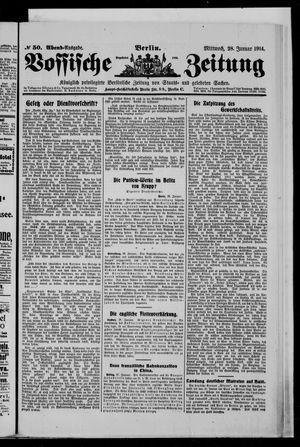 Vossische Zeitung vom 28.01.1914