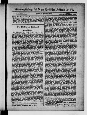 Vossische Zeitung vom 01.02.1914