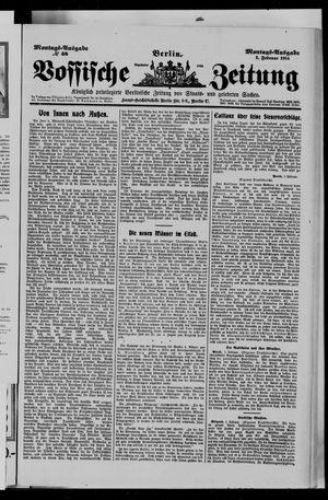 Vossische Zeitung vom 02.02.1914