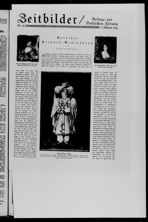 Vossische Zeitung vom 03.02.1914