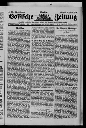 Vossische Zeitung on Feb 4, 1914