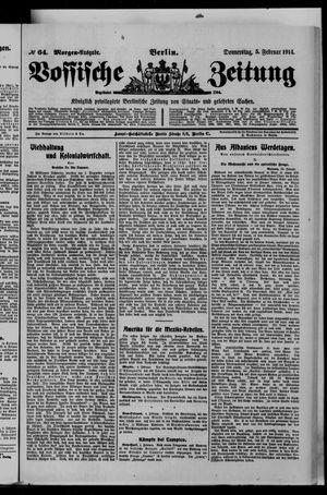Vossische Zeitung vom 05.02.1914