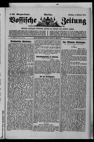 Vossische Zeitung vom 06.02.1914
