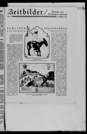 Vossische Zeitung vom 10.02.1914