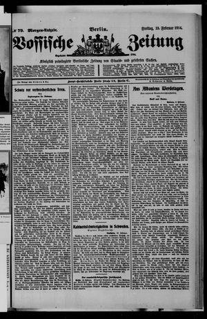 Vossische Zeitung vom 13.02.1914