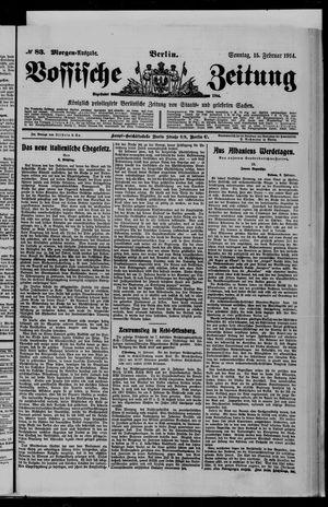 Vossische Zeitung vom 15.02.1914