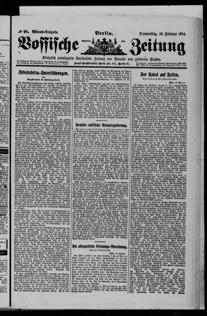 Vossische Zeitung vom 19.02.1914