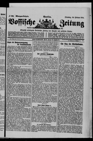 Vossische Zeitung vom 24.02.1914