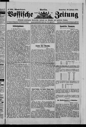 Vossische Zeitung vom 28.02.1914