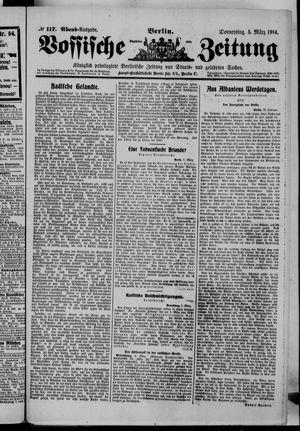 Vossische Zeitung vom 05.03.1914