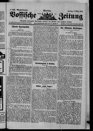 Vossische Zeitung vom 06.03.1914