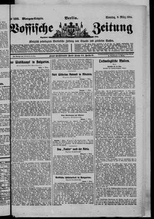 Vossische Zeitung on Mar 8, 1914