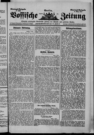 Vossische Zeitung vom 09.03.1914