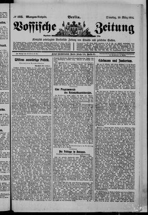 Vossische Zeitung vom 10.03.1914