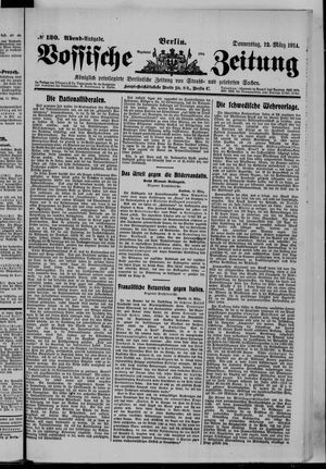 Vossische Zeitung vom 12.03.1914