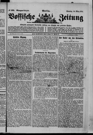 Vossische Zeitung vom 15.03.1914