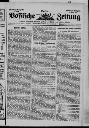 Vossische Zeitung vom 16.03.1914
