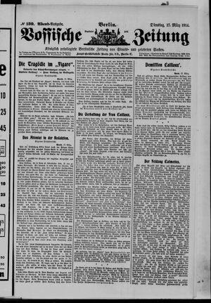 Vossische Zeitung vom 17.03.1914