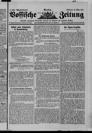 Vossische Zeitung vom 18.03.1914