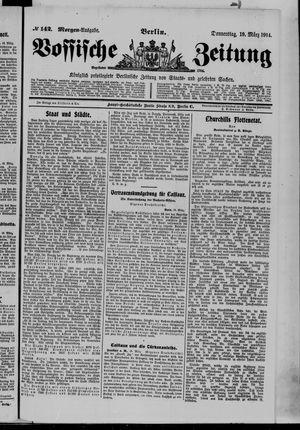 Vossische Zeitung vom 19.03.1914