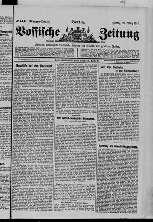Vossische Zeitung vom 20.03.1914