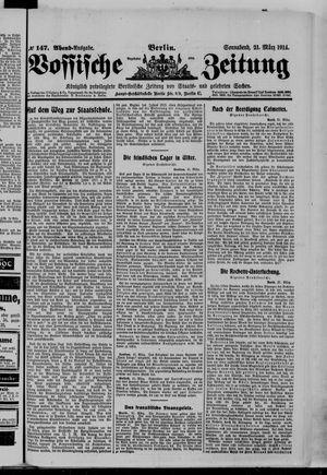 Vossische Zeitung on Mar 21, 1914
