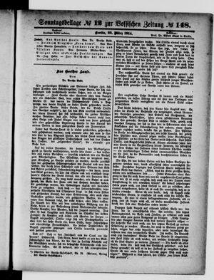 Vossische Zeitung vom 22.03.1914