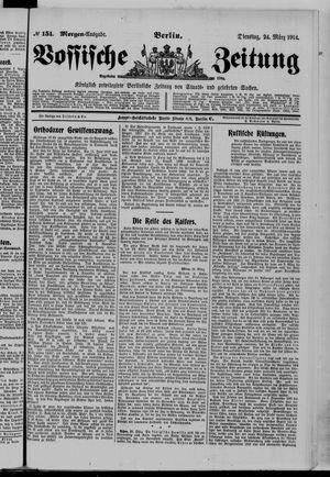 Vossische Zeitung vom 24.03.1914