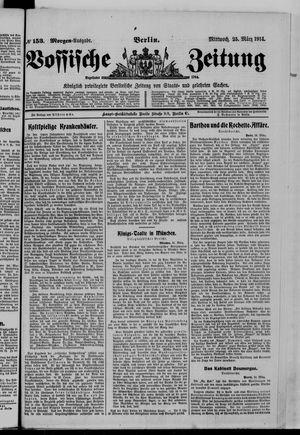 Vossische Zeitung vom 25.03.1914